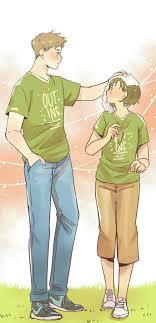 pin di anime webtoon couple pict