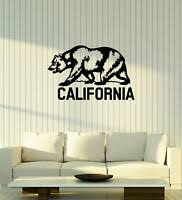 California Republic Cali Bear Removable Wall Vinyl Decal Sticker 48 X 22 3 For Sale Online
