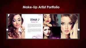 makeup artist pdf portfolio saubhaya