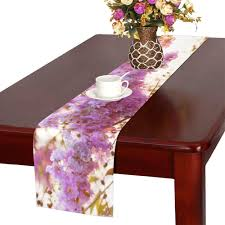 Amazon.com: XINLU Vintage Table Runner Inthanin Flowers Or Queen Crape Myrtle  Long Table Runners Office Table Runner 16x72 Inch for Dinner Parties Events  Decor: Home & Kitchen