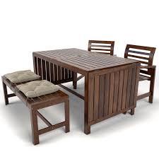 garden furniture applaro ikea 3d