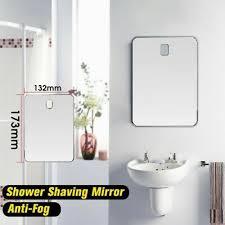 glass shower shaving mirror bathroom