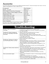Troubleshooting Accessories Petsafe Deluxe In Ground Cat Fence User Manual Page 17 112