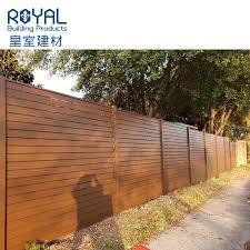 China Factory Supply Aluminum Powder Coated Horizontal Slat Fence Panels China Aluminum And Slat Price