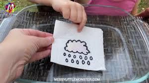 MAGIC PAPER TOWEL ART & SCIENCE EXPERIMENT FOR KIDS - SURPRISE ...
