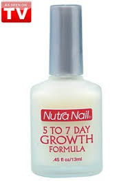 nutra nail 5 to 7 day growth formula