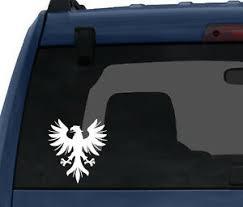 Heraldic Symbols 2 European Eagle Sign Family Crest Car Tablet Vinyl Decal Ebay