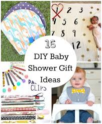 16 diy baby shower gifts to make make