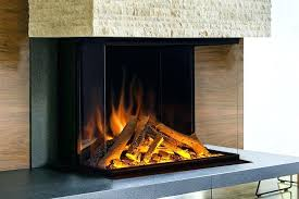 built in wall electric fireplace