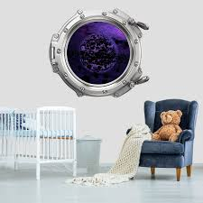 Shop Spaceship Porthole Window Wall Decal Space Overstock 31571272