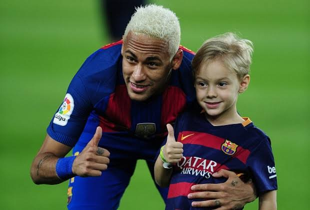 Image result for Neymar and son""