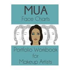 mua face charts portfolio workbook for
