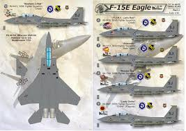 Print Scale Decals 1 48 Mcdonnell F 15e Strike Eagle Part 1 48030