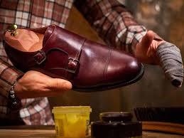 remove shoe polish from plastic
