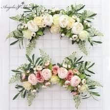 flower door wreath flower