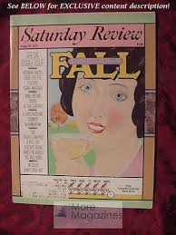 Saturday Review August 6/20 1977 A VERY SPECIAL FALL Bernard Kalb ...