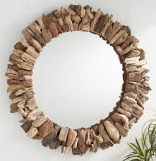 striking driftwood mirrors the