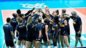 Nazionale italiana pallavolo femminile batte l'Olanda ~