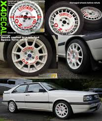 Rally Wheel Decal Sticker To Restore Or Fit Oz Racing Sparco Classic X4 Ebay