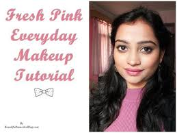 fresh pink everyday makeup tutorial