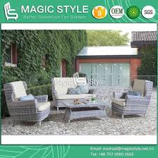 china outdoor wicker sofa set with