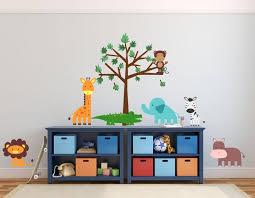Kids Jungle Tree Decals Studiowalldecals