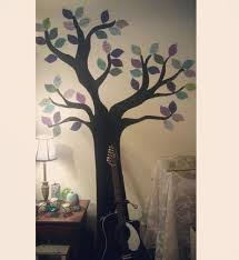 Tree Wall Art How To Make Wallpaper A Wall Painting Art On Cut Out Keep