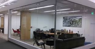 office interior glass contractor los