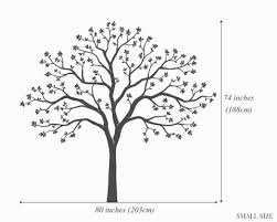 Large Family Tree Wall Decal Photo Tree Decals Surface Inspired Home Decor Wall Decals Wall Art Wooden Letters