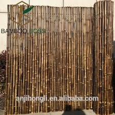 Black Bamboo Fence Buy Artificial Black Bamboo Fence Natural Bamboo Fence Cheap High Quality Black Bamboo Fencing Panel Product On Alibaba Com