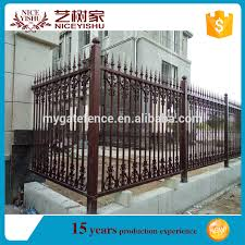 Philippines Antique Latest Cheap Residential Aluminum Slat Fence Used Laser Cut Wrought Iron Fence Panels For Villa Homes Garden View Aluminum Slat Fence Yishujia Product Details From Shijiazhuang Yishu Metal Products Co