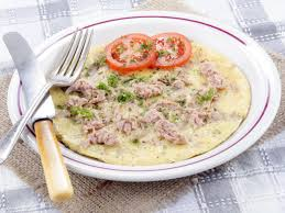 Eggs, Cheese, and Tuna Omelet Recipe ...