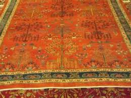 6 x 9 persian tribal rug with tree of