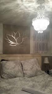 panel wall art lotus flower