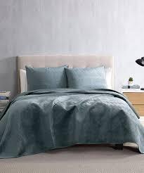 brielle slate blue hayden waves velvet