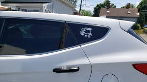 My Friend Custom Made A Vinyl Master Chief Decal For My Car As A Birthday Gift Love It Imgur