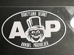 Disney Disneyland Ap Annual Passholder Car Decal Hatbox Ghost Haunted Mansion 13 00 Picclick