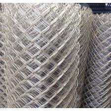 Silver Galvanized Iron Chain Link Wire Fencing Packaging Type Roll Rs 15 Feet Id 20910470362