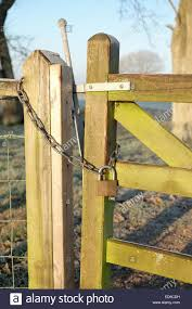 Farm Gate Padlock And Chain High Resolution Stock Photography And Images Alamy