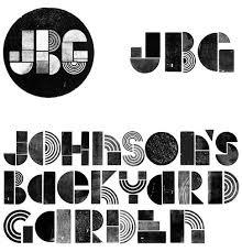 backyard garden logo and identity