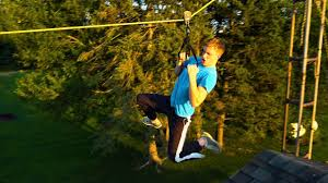 how to build your own zipline you
