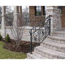 iron railings stone pillars design