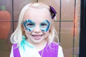 how to do easy mermaid makeup for kids