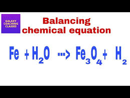 how to balance a chemical equation ll