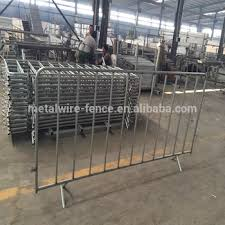 Temporary Fence For Crowd Control Metal Barricade 2 5m Long X 1 1m High Pedestrian Barrier Fence Buy Temporary Fence For Crowd Control Metal Barricade Cheap Metal Barrier Temporary Fence For Crowd Control Metal Barricade
