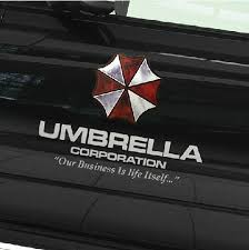 Umbrella Corporation Car Decals Stickers Vinyl Stickers For Car Door 2 Pcs Stickers Time Stickers Shellsticker Gun Aliexpress