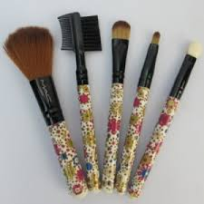 relaxed red purple mac 5 brushes set 129