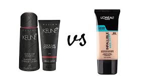 keune vs l which brand has the