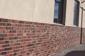 faux stone walls brick wall paneling