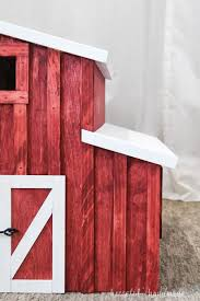 wooden toy barn build plans houseful